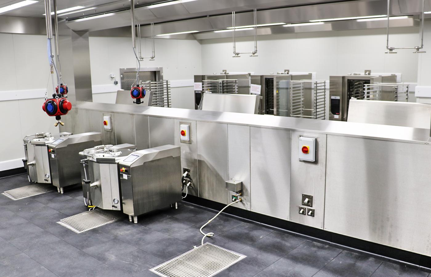 Großküchenplanung bei SCHECK-iN Manufaktur in Achern
